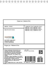Eleganz pur - Madame d'Ora (Tischkalender 2019 DIN A5 hoch) - Produktdetailbild 13