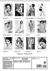 Eleganz pur - Madame d'Ora (Wandkalender 2019 DIN A3 hoch) - Produktdetailbild 13