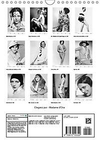 Eleganz pur - Madame d'Ora (Wandkalender 2019 DIN A4 hoch) - Produktdetailbild 13