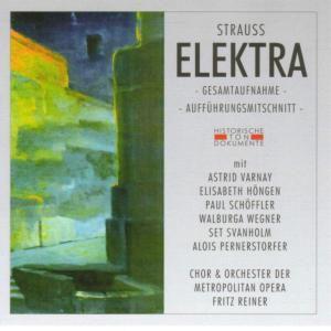 Elektra (Ga), Chor & Orch.Der Metropolitan Opera