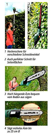 """Elektro Heckenschere & Hochentaster """"2in1"""" - Produktdetailbild 3"""
