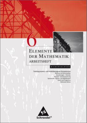 Elemente der Mathematik, Arbeitshefte für Hamburg, Bremen und Niedersachsen: 6. Schuljahr