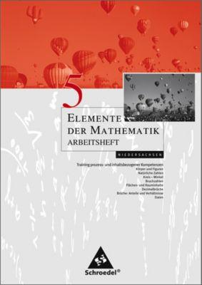 Elemente der Mathematik, Arbeitshefte für Hamburg, Bremen und Niedersachsen: 5. Schuljahr