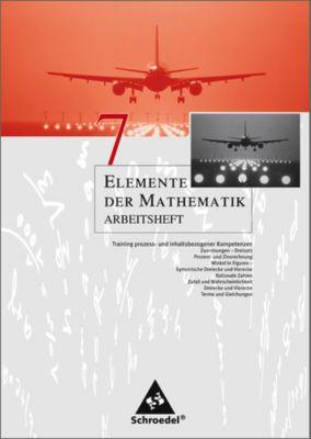 Elemente der Mathematik, Arbeitshefte für Nordrhein-Westfalen, Rheinland-Pfalz, Schleswig-Holstein: 7. Schuljahr