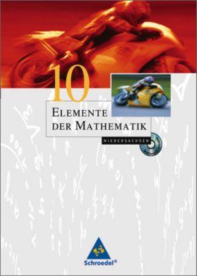 Elemente der Mathematik, Ausgabe Niedersachsen (G8): 10. Schuljahr, m. CD-ROM