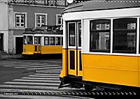 Eletricos - The bright yellow spots of Lisbon (Wall Calendar 2019 DIN A3 Landscape) - Produktdetailbild 2