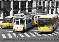Eletricos - The bright yellow spots of Lisbon (Wall Calendar 2019 DIN A3 Landscape) - Produktdetailbild 3