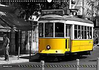 Eletricos - The bright yellow spots of Lisbon (Wall Calendar 2019 DIN A3 Landscape) - Produktdetailbild 1