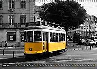 Eletricos - The bright yellow spots of Lisbon (Wall Calendar 2019 DIN A3 Landscape) - Produktdetailbild 6