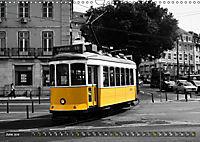 Eletricos - The bright yellow spots of Lisbon (Wall Calendar 2019 DIN A3 Landscape) - Produktdetailbild 6