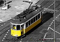 Eletricos - The bright yellow spots of Lisbon (Wall Calendar 2019 DIN A3 Landscape) - Produktdetailbild 4