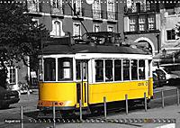 Eletricos - The bright yellow spots of Lisbon (Wall Calendar 2019 DIN A3 Landscape) - Produktdetailbild 8