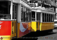 Eletricos - The bright yellow spots of Lisbon (Wall Calendar 2019 DIN A3 Landscape) - Produktdetailbild 12