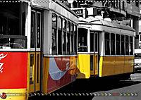 Eletricos - The bright yellow spots of Lisbon (Wall Calendar 2019 DIN A3 Landscape) - Produktdetailbild 12