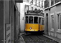 Eletricos - The bright yellow spots of Lisbon (Wall Calendar 2019 DIN A3 Landscape) - Produktdetailbild 11
