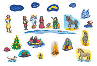 Elias und das Weihnachtsgeheimnis- Folien-Adventskalender - Produktdetailbild 5