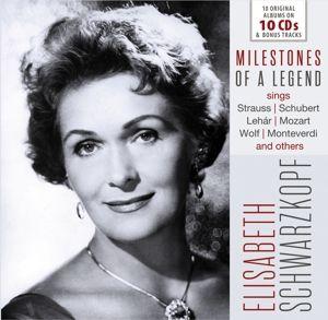 Elisabeth Schwarzkopf-Milestones Of A Legend, Elisabeth Schwarzkopf