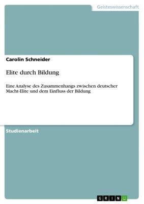 Elite durch Bildung, Carolin Schneider