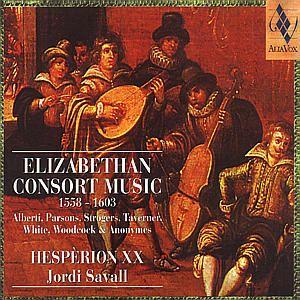 Elizabethan Consort Music, 1558-1603, Savall, Hesperion Xx