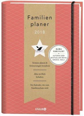 Elma van Vliet Familienplaner 2018, Elma van Vliet