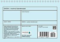 EMDEN maritime Seehafenstadt (Tischkalender 2019 DIN A5 quer) - Produktdetailbild 13