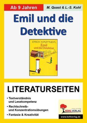 Emil und die Detektive - Literaturseiten, Moritz Quast, Lynn S Kohl
