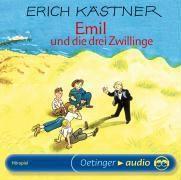 Emil und die drei Zwillinge, 1 Audio-CD, Erich Kästner