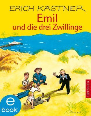 Emil und die drei Zwillinge, Erich Kästner