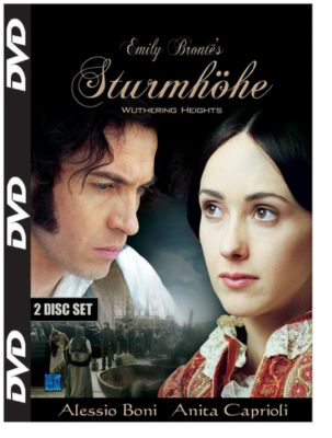 Emily Brontes Sturmhöhe - Wuthering Heights, 2 DVDs, Emily Brontë