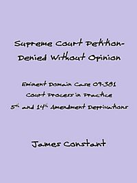 the eminent domain case philosophy essay The text, origins, and meaning of the fifth amendment,  case that created the statement officers  private property under eminent domain for.