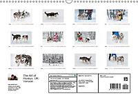 Emotional Moments: The Art of Huskys. UK-Version (Wall Calendar 2019 DIN A3 Landscape) - Produktdetailbild 13