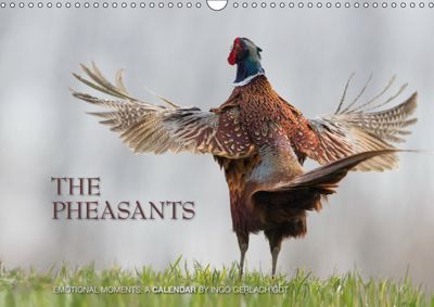 Emotional Moments: The pheasants. UK-Version (Wall Calendar 2019 DIN A3 Landscape), Ingo Gerlach GDT