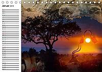 Emotionale Momente: African DreamsCH-Version (Tischkalender 2019 DIN A5 quer) - Produktdetailbild 1