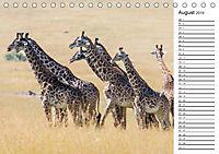 Emotionale Momente: Giraffen, die höchsten Tiere der Welt. (Tischkalender 2019 DIN A5 quer) - Produktdetailbild 8