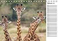 Emotionale Momente: Giraffen, die höchsten Tiere der Welt. (Tischkalender 2019 DIN A5 quer) - Produktdetailbild 2
