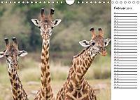 Emotionale Momente: Giraffen, die höchsten Tiere der Welt. (Wandkalender 2019 DIN A4 quer) - Produktdetailbild 2