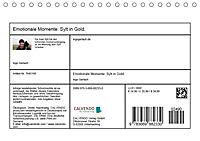Emotionale Momente: Sylt in Gold. (Tischkalender 2019 DIN A5 quer) - Produktdetailbild 13