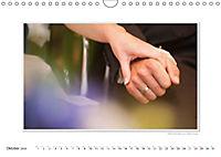 Emotionale Momente: Unser Hochzeitsjahr. (Wandkalender 2018 DIN A4 quer) - Produktdetailbild 10