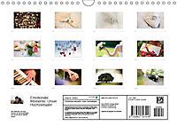 Emotionale Momente: Unser Hochzeitsjahr. (Wandkalender 2018 DIN A4 quer) - Produktdetailbild 13