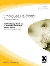 Employee Relations: Employee Relations, Volume 28, Issue 3