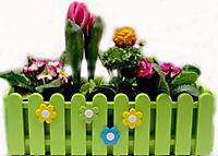EMSA Landhaus Blumenkasten 50 cm, grün, 1 Stück, ohne Deko - Produktdetailbild 3