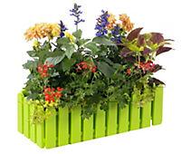 EMSA Landhaus Blumenkasten 50 cm, grün, 1 Stück, ohne Deko - Produktdetailbild 2