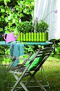 EMSA Landhaus Blumenkasten 50 cm, grün, 1 Stück, ohne Deko - Produktdetailbild 1