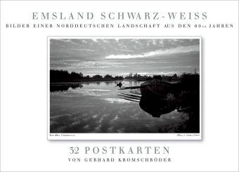 Emsland Schwarz-Weiß, Postkartenbuch, Gerhard Kromschröder