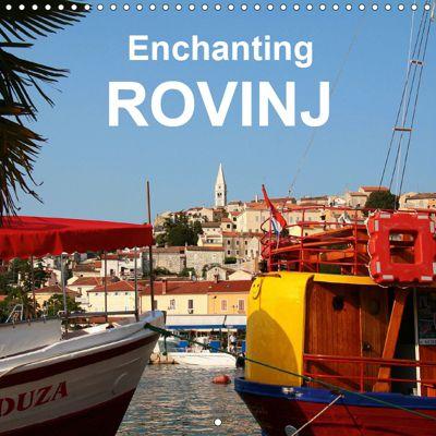 Enchanting Rovinj (Wall Calendar 2019 300 × 300 mm Square), Gisela Kruse