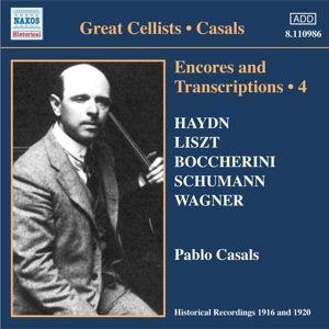 Encores+Transcriptions Vol.4, Pablo Casals
