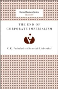 the end of corporate imperialism Imperialism and economic globalization  for it allows the maintenance of corporate subsidies through virtually unlimited  the end of the age of imperialism.