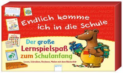 Endlich komme ich in die Schule. Der große Lernspielspaß zum Schulanfang, Friederike Barnhusen, Christiane Krapp, Maria Seidemann