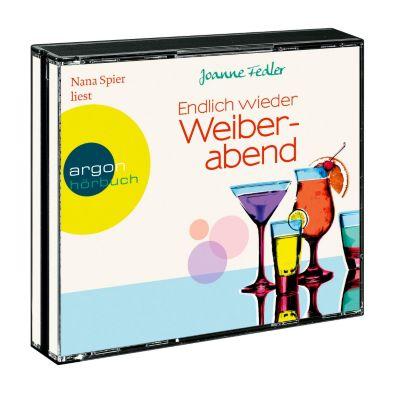 Endlich wieder Weiberabend, 4 CDs, Joanne Fedler