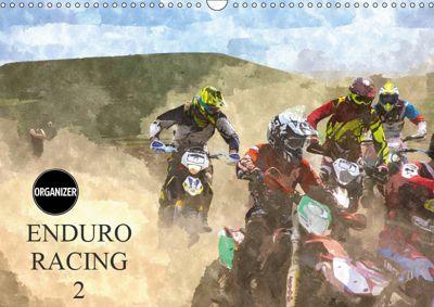 ENDURO RACING 2 (Wall Calendar 2019 DIN A3 Landscape), ron eccles